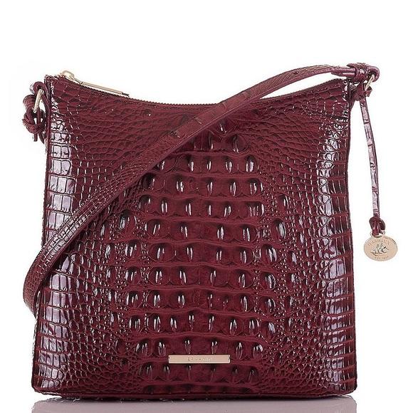 a54619d9b Brahmin Bags | Croc Embossed Katie Crossbody Bag Nwt | Poshmark